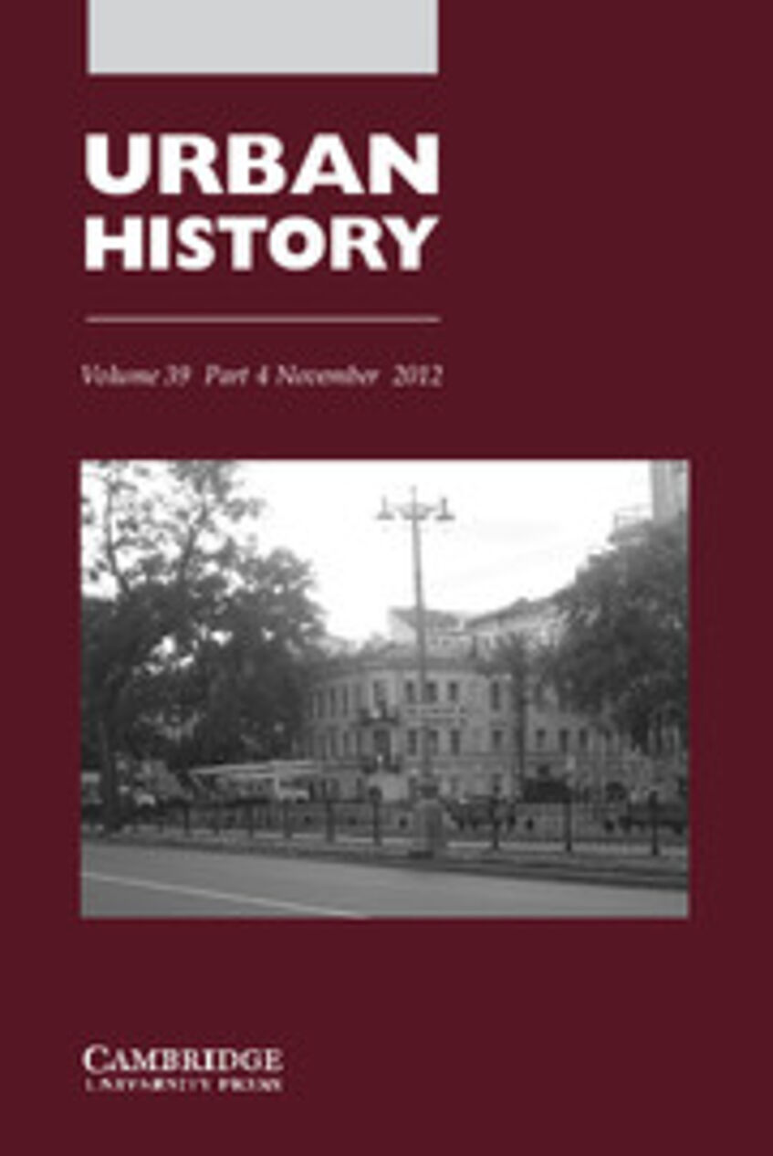 History of Urban House Numbering. Special Section von Urban History, 39.2012/4, Hg. von Rose-Redwood, Reuben/Tantner, Anton.